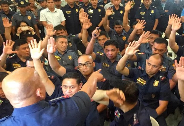 PNP's purge of drug-suspected police now in full force