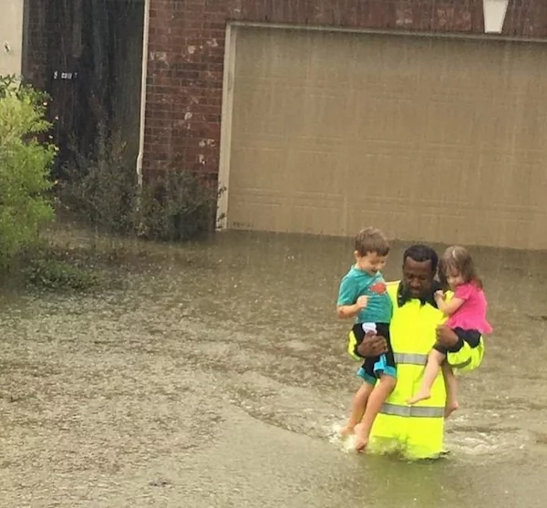 Another heartwarming rescue. Photo: Paper City Magazine