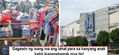 "Maawa na po kayo! Mom steals 3 shirts as ""pamasko"" for 4-yr-old son, pleads SM San Lazaro guards to set her free to spend Christmas with child"