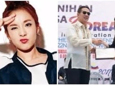 K-pop star Sandara Park is appointed as the Korea-Philippines' Friendship Ambassador