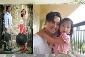 Superdad Wowie de Guzman focuses his love and attention on his daughter