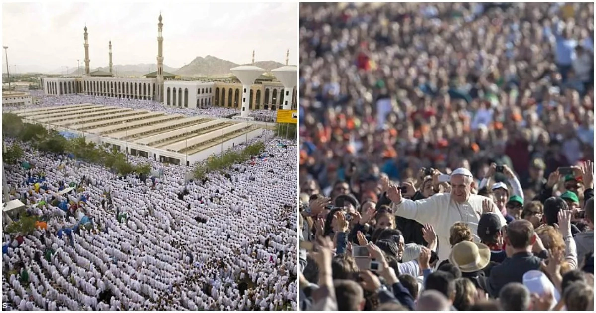 Muslim births set to overtake Christian births worldwide within 20 years
