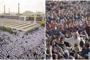 Islam set to overtake Christianity as world's LARGEST religion by end of century