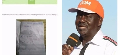 The mystery of a handwritten form 34A on IEBC's website