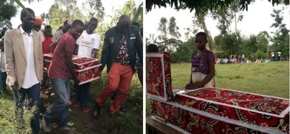 Tears as Bungoma boy who died mysteriously as mother entertained secret lover laid to rest