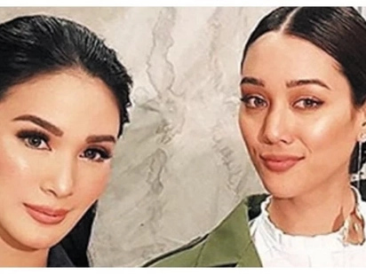 Parang ang awkward nga! Heart Evangelista shares a photo of her with Jericho Rosales' wife Kim Jones but she also deletes it afterwards