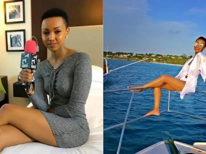 I only fall in love with a man's money - socialite Huddah Monroe declares
