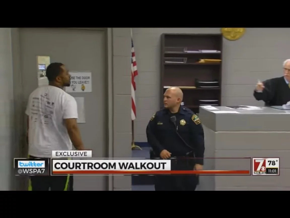 Man Accused Of Getting 11 Year Old Girl Pregnant Storms Out Of Bond Hearing (Video)