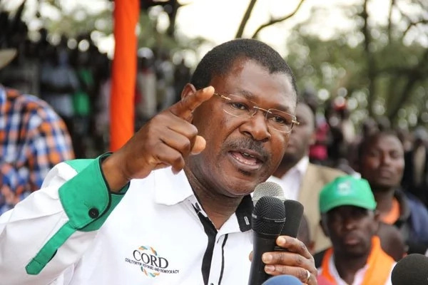Wetangula's Party denies holding secret meetings with Jubilee agents