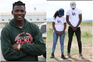 Meet the hot lass who swept top Harambee Star player Michael Olunga off his feet