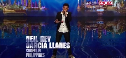 This Pinoy really got the talent. What he did with his voice will amaze you.