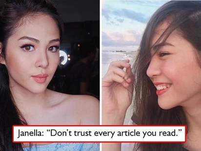 Wag maniwala! Janella Salvador warns netizens about writers who quote statements but were in fact never stated at all