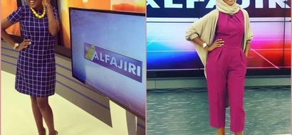 7 poses of K24 presenter Amina Abadi that will make you fall in love with Muslim girls