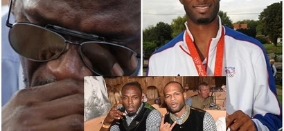 Usain Bolt WEEPS like toddler and it's because this close friend left him (photos)