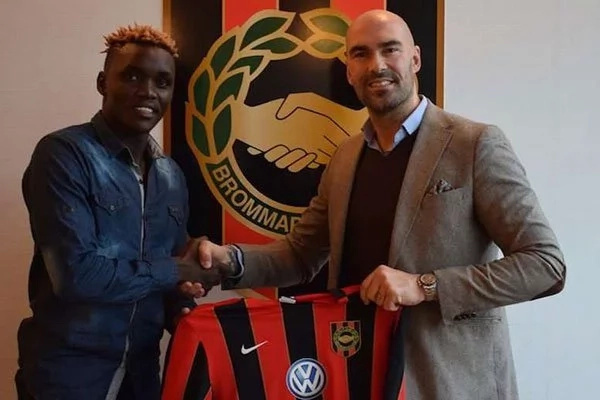 Another Harambee Stars player signs for Swedish top tier side on a three-year deal