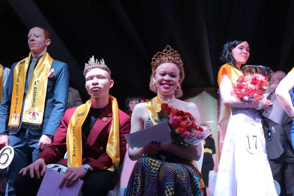 How the first ever Mr and Miss Albinism Beauty Pageant went down