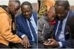Raila Odinga visits late Chris Msando's rural home and shares emotional photos