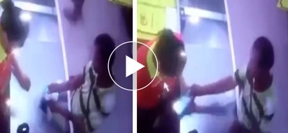 Magnanakaw! Sneaky thief uses slight of hand to rob cashier in Divisoria