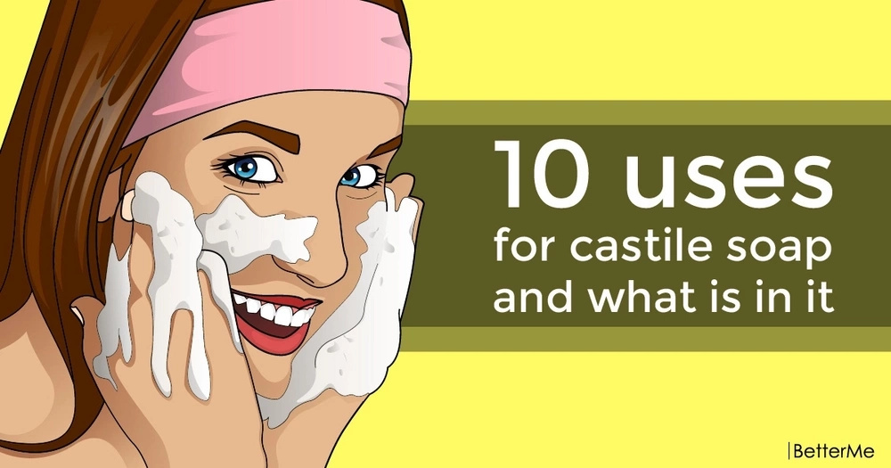 10 uses for castile soap and what is in it