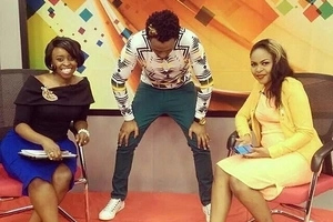 9 adorable photos of BIG-hipped ex-NTV presenter while heavily pregnant