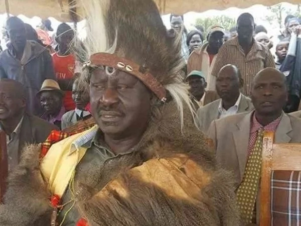 Raila receives Kalenjin blessings
