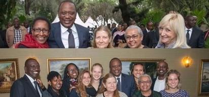 Rais Uhuru atembelea familia ya marehemu Nicholas Biwott, wengi hawawajui (picha)