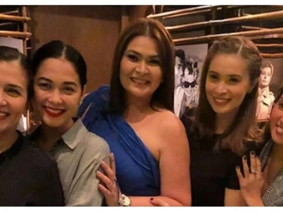 Nagpaparty si Emilia! Aiko Melendez celebrates her 42nd birthday with 'Wildflower' cast