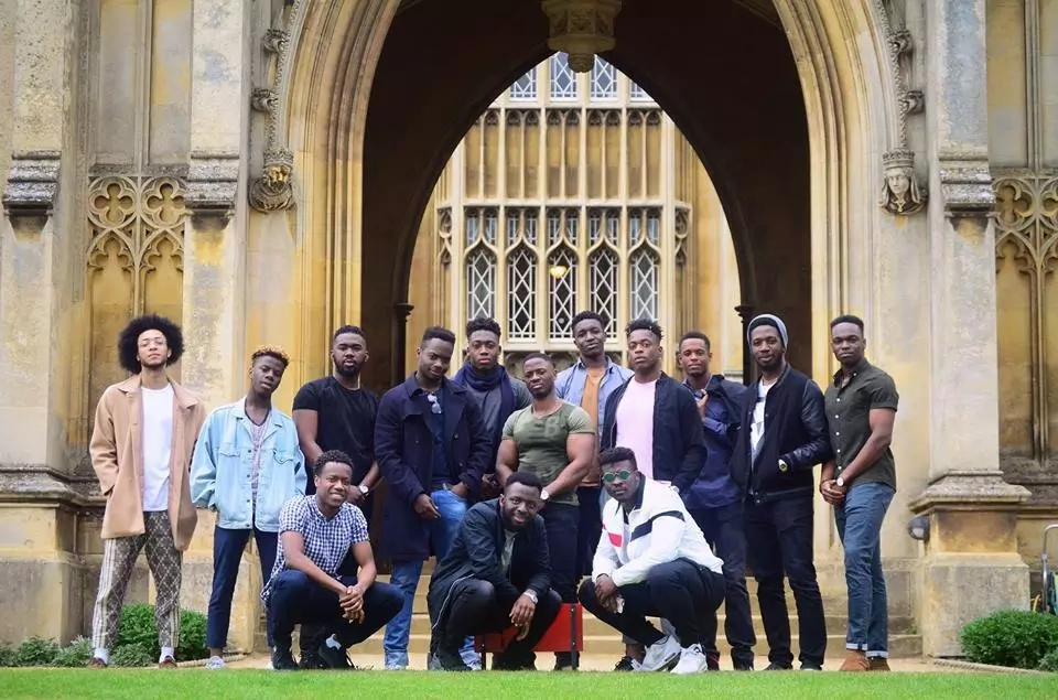 The students hope to inspire other black students to join Cambridge University