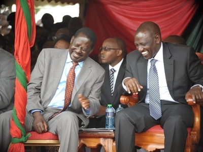 DP William Ruto mocks Raila Odinga for begging money in the UK