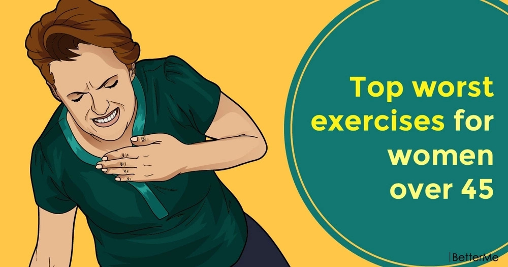 Top worst exercises for women over 45