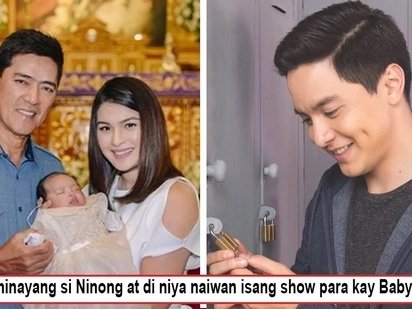 Di nag effort si ninong? Alden Richards fails to attend Baby Talitha's baptism for seemingly outrageous reasons!