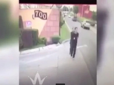 CCTV Captures Horrifying Moment Mexican Cartel Murder A Judge