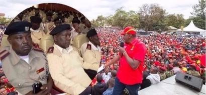Uhuru apandwa na hasira Makueni baada ya kupigiwa kelele na wafuasi wa NASA