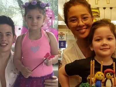 Double celebration means double the fun! Ellie Eigenmann's 5th birthday will make you wish you were a kid again