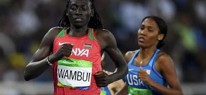 Mkenya aliyeshinda katika mbio za Olimpiki za Rio akwama njiani (picha)