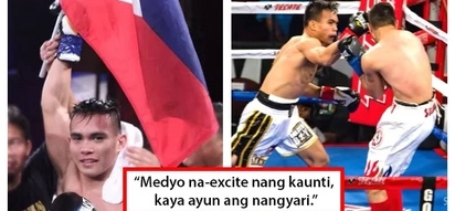 Isang minuto lang tumba na! Pinoy boxer Romero Duno knocks out Mexican foe in just 61 seconds