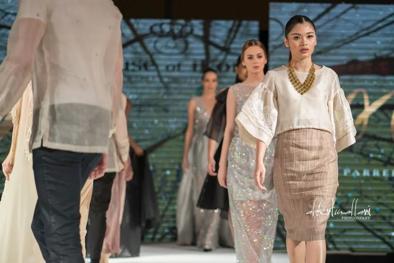 Filipino designers rock the international fashion stage with collections made from indigenous materials