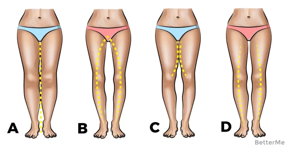 The shape of your legs can tell you what you are in a relationship