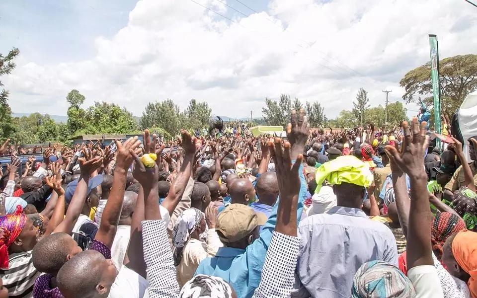 Uhuru in Kisii, Nyamira