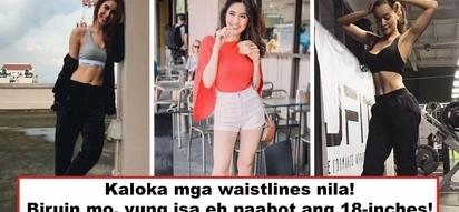 Sila na ang pinaka-fitness goal ng lahat ng kababaihan! 7 Pinay celebs with tiniest 24-inch waistlines and below