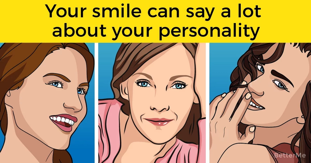 Your smile can say a lot about your personality