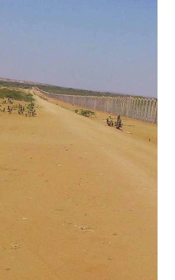 Huu ndio ukuta unajengwa kati ya Kenya na Somalia? (Picha)