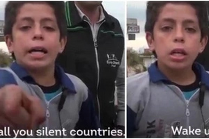 Syrian boy gives message to the world. His powerful words will make you think