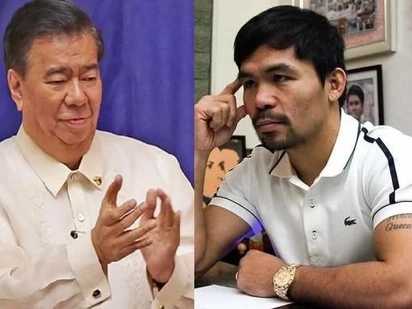 LOOK! Drilon supports Pacquiao boxing return, but he gave the boxer a condition