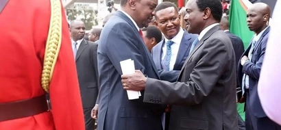 Has Uhuru entered into a deal with Kalonzo Musyoka? The wiper leader