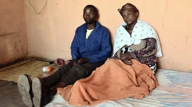 Ernest Maziba and Florence Phoswa lost two children in the accident