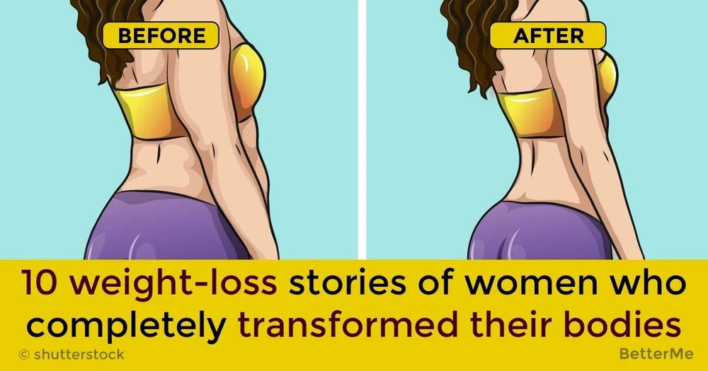 10 weight-loss stories of women who completely transformed their bodies