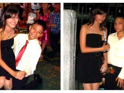 Ang sweet naman! Netizens are going crazy over throwback photos of Liza Soberano with a male student partner at a high school formal event!