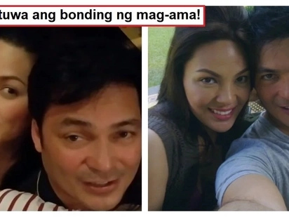Ang sweet naman nila! Gabby Concepcion spends quality time with daughter KC Concepcion