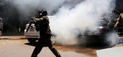 Polisi wawashambulia wanafunzi wa chekechea kwa vitoza machozi, Kisumu